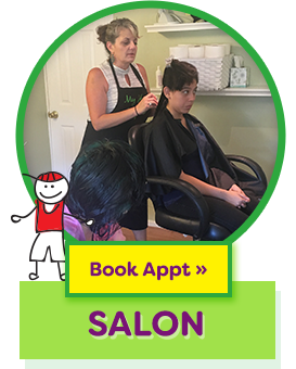 Book Appointment –Salon