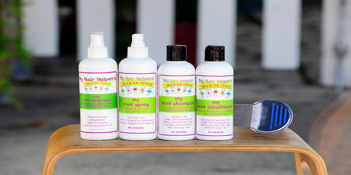 shopping head lice products
